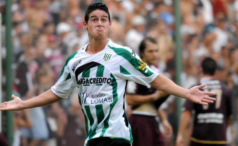 James, ex volante de Banfield(Fotobaires)